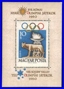 Hungary #1336 MNH XF Winter & Summer Olympics