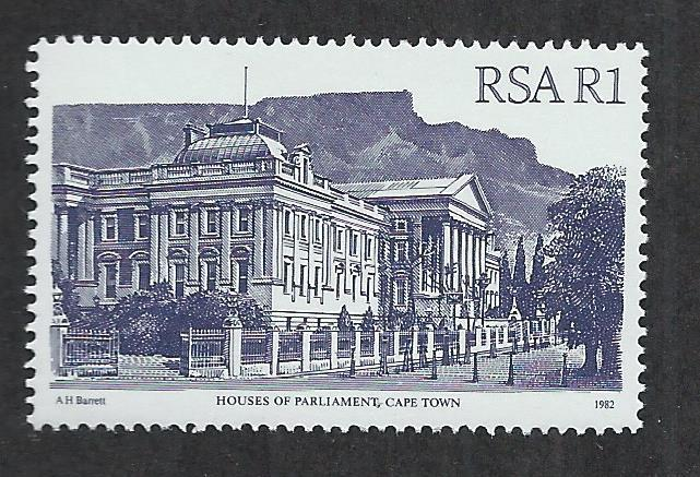 SOUTH AFRICA SC# 588 VF/MNH 1986