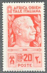 DYNAMITE Stamps: Italian East Africa Scott #6 – MINT