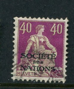 Switzerland #2O 21 Used