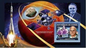 Space Stamp Dennis Tito Astronaut Premier Tourist S/S MNH #4529 / Bl.1107