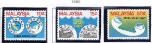 Malaysia Scott 207-209 MNH** set