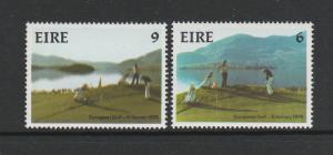 Ireland 1975 European Amateur Golf UM/MNH SG 373/4