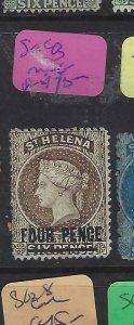 ST HELENA  (P0705BB)  QV  4D       SG 43      MNG