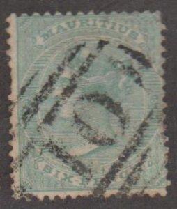 Mauritius Scott #37 Stamps - Used Single