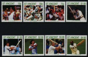 St Vincent 1108-15 MNH Sports, Cricket