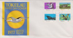 Tokelau Islands 1977 Bird Life IssueFirst Day Cover