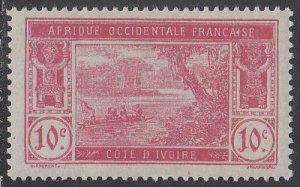 Ivory Coast 47 MLH CV $2.00