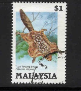 Malaysia Scott 298 Used Flying Squirel stamp