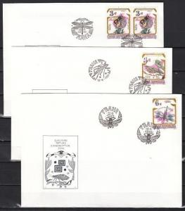 Czech Rep., Scott cat. 2951-2953. Insects issue on a First Day Cover. ^