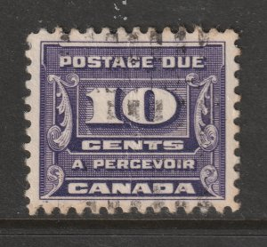 Canada a used 10c Post Due from 1933