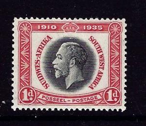Southwest Africa 121 MNH 1935 KGV Silver Jubilee