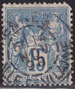 France 92 Peace and Commerce 15c 1878