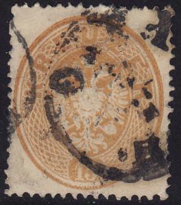 Austria - 1863 - Scott #21 - used