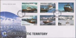 British Antarctic Territory Scott C5-C10 Unaddressed.