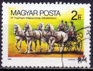 Hungary. 1984. 3692. Horseback Riding. USED.
