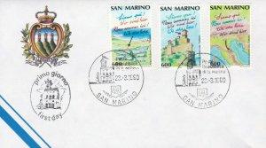 SM133) San Marino 1990 European Tourism Year