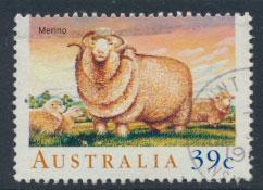 SG 1195  SC# 1136 Used  - Sheep in Australia