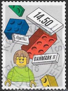 Denmark 1704 Used - Lego - Girl