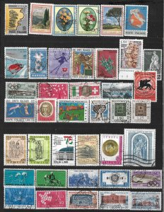 COLLECTION LOT OF # 824 ITALY 40 STAMPS 1960+