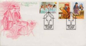 Australia, First Day Cover, Christmas