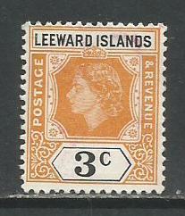 Leeward Isl.   #136  MH  (1954)  c.v. $2.50