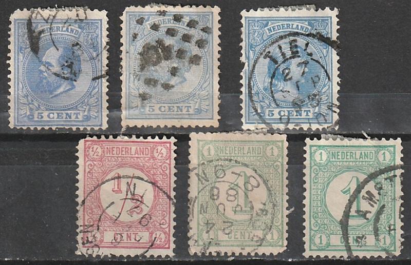 #34-5,23,41 Netherlands Used