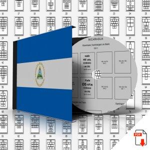 NICARAGUA STAMP ALBUM PAGES 1862-2009 (629 PDF digital pages)