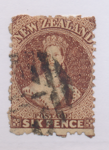 New Zealand Stamp Scott #19, Used - Free U.S. Shipping, Free Worldwide Shippi...