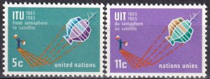 United Nations  #141-2  MNH  (SU8098)