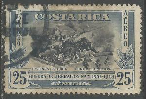COSTA RICA C191 VFU 662G-2