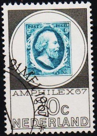 Netherlands. 1967 20c S.G.1035 Fine Used