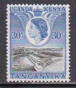 Kenya,Uganda,Tanz.  #108  MNH  (1954)  c.v. $1.50