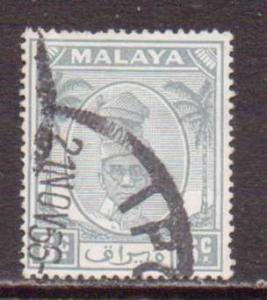 Malaya-Perak   #109  used  (1950)  c.v. $0.40