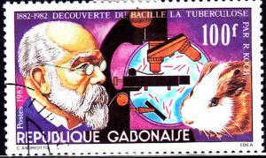 Gabon 507 TD Bacillus 1982