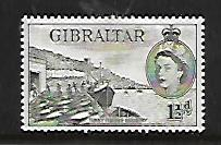 GIBRALTAR, 134, MINT HINGED, FISHING INDUSTRY