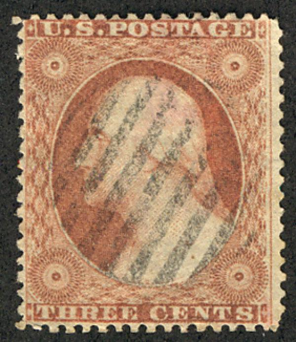 US #26 VF used, nicely centered, FRESH!