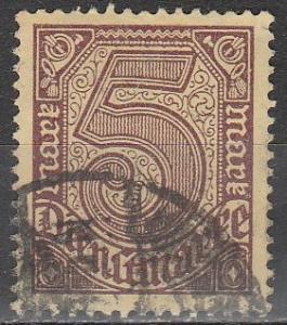 Germany #O13 F-VF Used CV $3.00  (V1881)