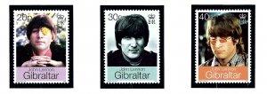 Gibraltar 802-04 MNH 1999 John Lennon
