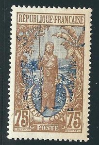Middle Congo 19 Yv 62 MH VF App 1907 SCV $10.00