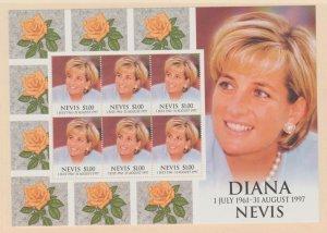 Nevis Scott #1096 Stamps - Mint NH Souvenir Sheet