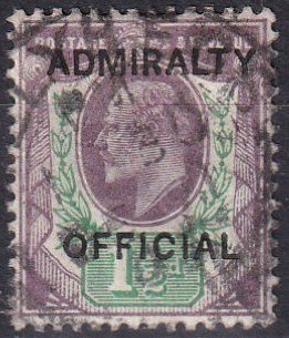 Great Britain #O74  F-VF Used CV $145.00   (Z1488)