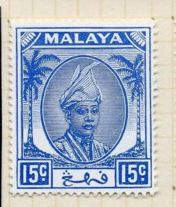 Penang Malaya 1950 Early Issue Fine Mint Hinged 15c. 029737