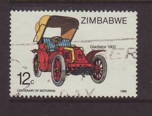 1986 Zimbabwe 12c Gladiator F/Used