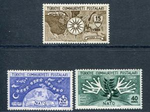 Turkey #1388-90  Mint VF NH    -    Lakeshore Philatelics