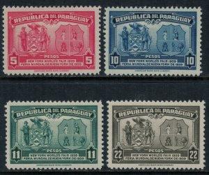 Paraguay #362-5*  CV $5.20