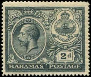 Bahamas SC# 67 SG# 108 George V 2d MVLH