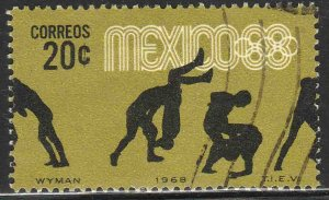 MEXICO 990, 20c Wrestling 4th Pre-Olympic Set Used F-VF. (742)