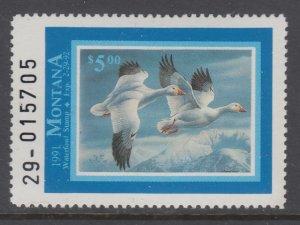 US Montana 39 Duck MNH VF