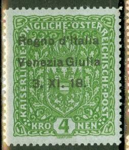 Austria N16 mint CV $1050